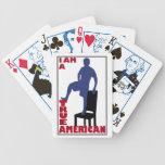 Naipes americanos verdaderos baraja de cartas