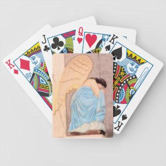 Naipes angelicales baraja de cartas