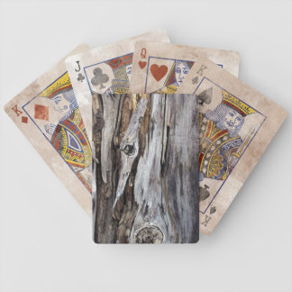 Naipes apenados madera resistidos barajas de cartas