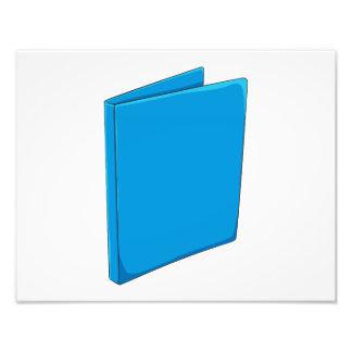 Naipes azules de encargo del saludo de la carpeta fotos