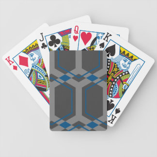 Naipes (azules) de Panal Baraja Cartas De Poker