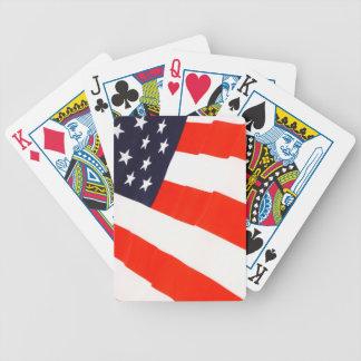 Naipes blancos y azules rojos cartas de juego