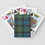 Naipes Campbell del tartán antiguo de Argyll Baraja Cartas De Poker