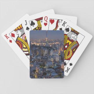 Naipes, caras estándar del índice barajas de cartas