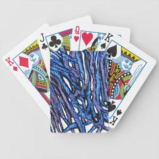 Naipes con diseño abstracto baraja cartas de poker