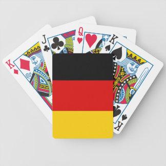 Naipes con la bandera de Alemania Baraja