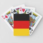 Naipes con la bandera de Alemania Baraja Cartas De Poker