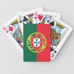 Naipes con la bandera de Portugal Baraja Cartas De Poker