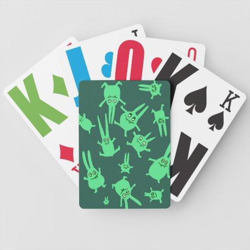naipes con los conejitos baraja de cartas