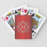Naipes cones monograma baraja cartas de poker