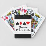 Naipes conocidos personalizados del póker