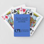 Naipes constantes del corredor cartas de juego