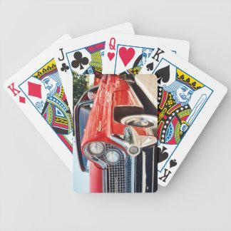 Naipes convertibles continentales 1959 de Lincoln Baraja Cartas De Poker