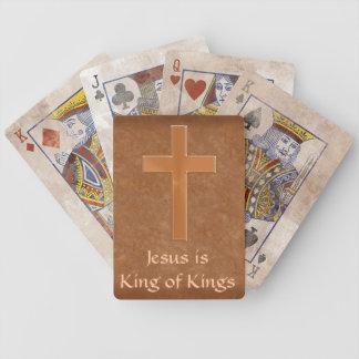 Naipes cristianos adaptables personalizados baraja cartas de poker