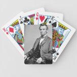 Naipes de Abraham Lincoln Barajas De Cartas