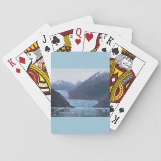 Naipes de Alaska de los glaciares