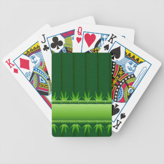 Naipes de bambú barajas de cartas