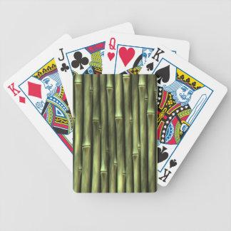 Naipes DE BAMBÚ Baraja Cartas De Poker