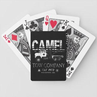 Naipes de Bicycle® de la remolque del camello Baraja Cartas De Poker