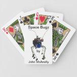 Naipes de Bugz del espacio Baraja De Cartas