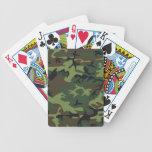 Naipes de Camo del arbolado Baraja Cartas De Poker