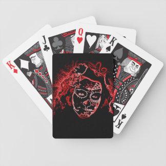 Naipes de Dia De Los Muertos Baraja Cartas De Poker