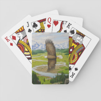 Naipes de Eagle calvo