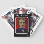 """Naipes de """"Edgar Allan Poe"""" Baraja De Cartas"""