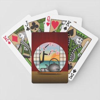 Naipes de encargo de Bicycle® del sitio japonés Baraja Cartas De Poker