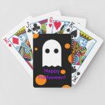 Naipes de encargo de Halloween del fantasma para Baraja De Cartas