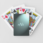 Naipes de encargo de las iniciales cartas de juego