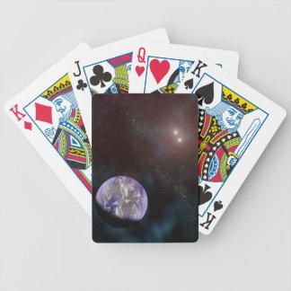 Naipes de Exoplanet Barajas De Cartas