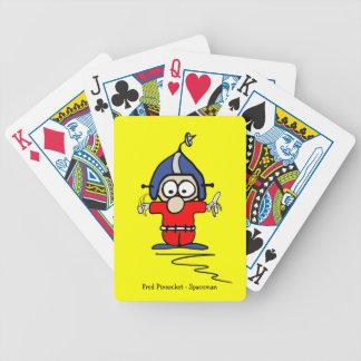 Naipes de Fred Pinsocket - su color y estilo Barajas De Cartas