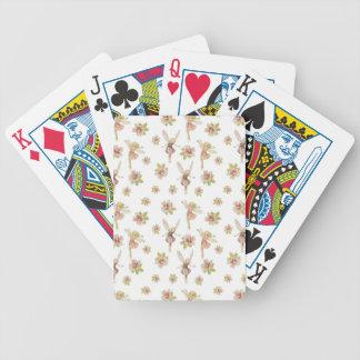 Naipes de hadas barajas de cartas