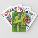 Naipes de hadas del bailarín baraja de cartas