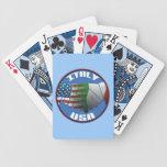 Naipes de Italia los E.E.U.U. Baraja Cartas De Poker