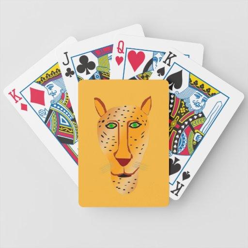 Naipes de Jaguar Cartas De Juego