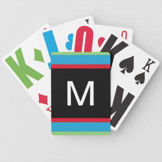 Naipes de la ampliación de foto cartas de juego