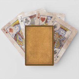 Naipes de la apariencia vintage baraja cartas de poker