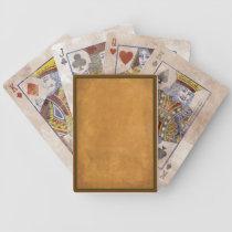 Naipes de la apariencia vintage baraja de cartas