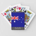 Naipes de la bandera de Australia Baraja Cartas De Poker