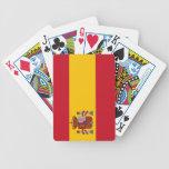 Naipes de la bandera de España Cartas De Juego