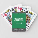 Naipes de la bandera de la Arabia Saudita Barajas De Cartas