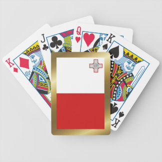 Naipes de la bandera de Malta Baraja Cartas De Poker