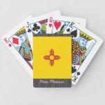 Naipes de la bandera de New México Baraja Cartas De Poker