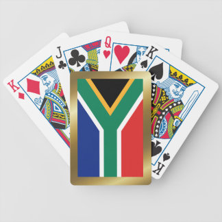 Naipes de la bandera de Suráfrica Baraja