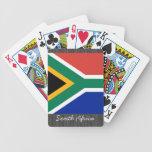Naipes de la bandera de Suráfrica Baraja Cartas De Poker
