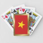 Naipes de la bandera de Vietnam Baraja Cartas De Poker