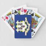 Naipes de la bandera del estado barajas de cartas