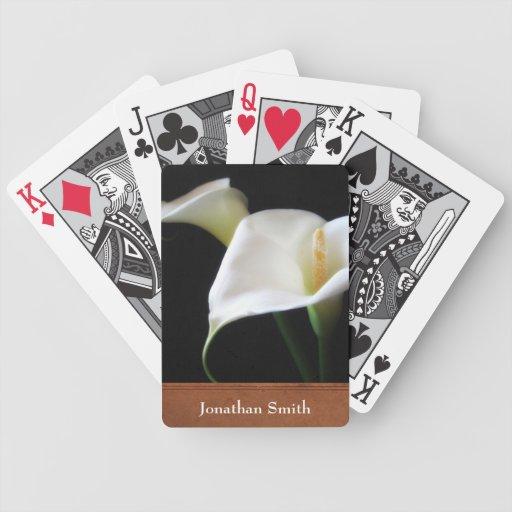 Naipes de la cala baraja de cartas